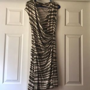 Olive and green Tommy Bahama dress.